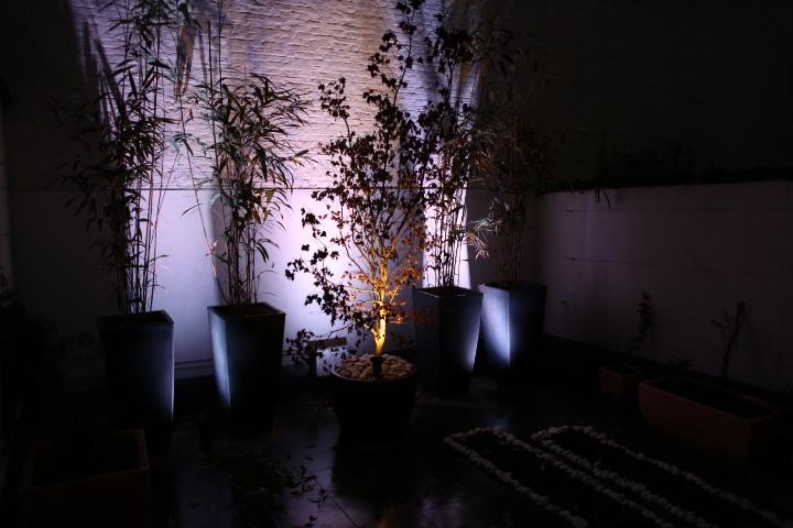Installation de luminaires externes